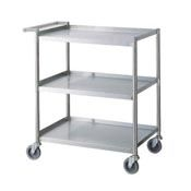 Stainless Steel Utility Cart Star Food Service Equipment