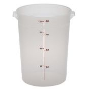 8 qt. Round Food Storage Container