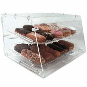 2-Shelf Display Case
