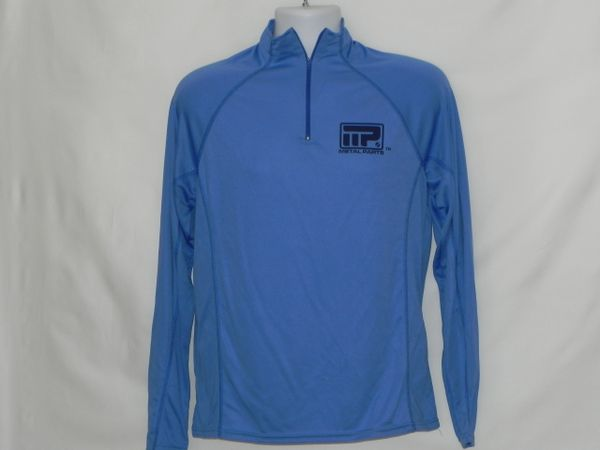 Men's Micro Smooth Zip Front Pullover