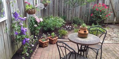Small scale garden sanctuaries are our specialty