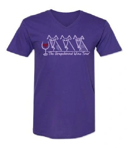 Grapehound Wine Tour® Summer Logo Shirt