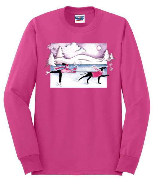 When Dogs and Snowflakes Fly-Sweatshirt