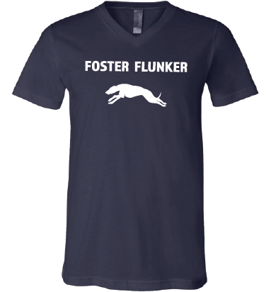 Short Sleeved Ladies V-neck Foster Flunker Shirt