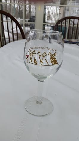 Grapehound Wine Tour Wine® Stemmed Wine Glasses