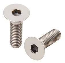 Grainger Neck Screw - M5 Counter Sunk Screw, Various Lengths, Black or Stainless Finish - Bulk Pack