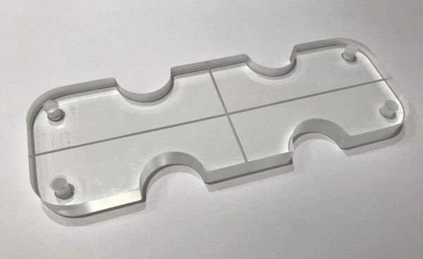 Grainger Precision Cross Hair Template Insert