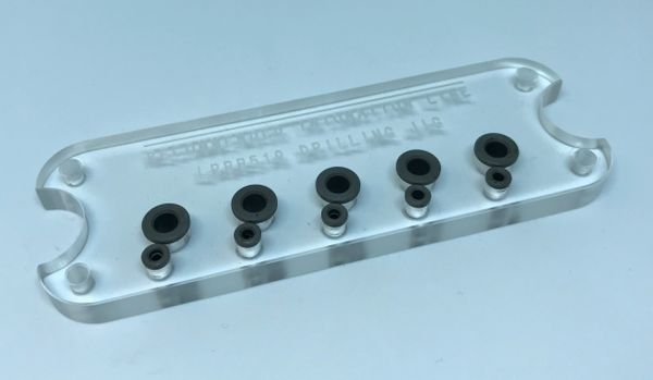 Grainger Bass Bridge Drilling Template Insert - LRBB519