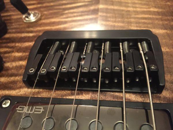 Grainger Hardtail Guitar Bridge - 6 String, 10.8mm String Spacing