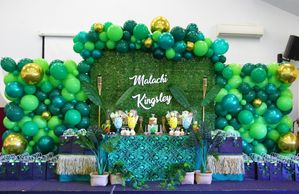 Jungle Island party 1st & 4th Birthday celebration by Pop the Balloon! Children's Parties & Events