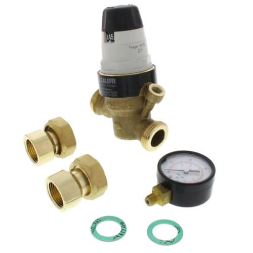 "3/4"" NPTF Pressure Reducing Valve w/ Gauge"