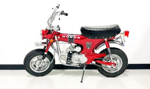 Candy Apple Red Honda CT70
