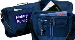Notary Public Attache Case