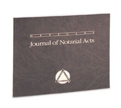 Soft Sided Journal of Notarial Acts