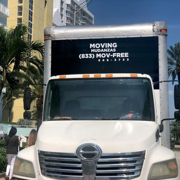 MOVING TRUCK MIAMI MOVING COMPANY RESIDENTIAL MOVERS  HIALEAH MOVING SERVICE
