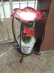 One of a kind Big Flower Porch Electric Burner/Warmer