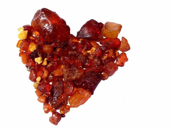 104 Amber Incense Cone