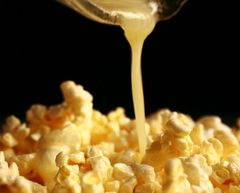 119 Buttered Popcorn Large Scented Gel