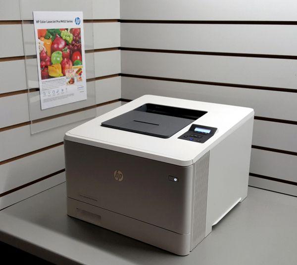 HP Colour LaserJet Pro M452nw Wireless Laser Network Printer