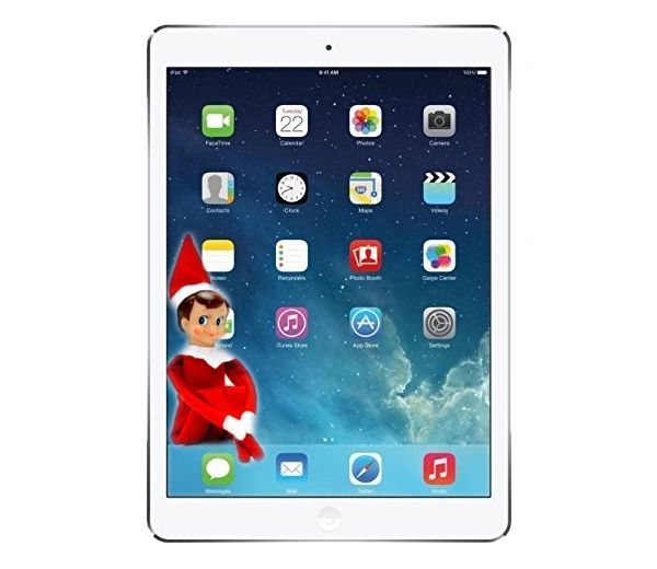 Apple iPad Air White / Silver - 32GB Model - Wi-Fi Only