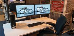 "HP Business Class Intel i5 PCs / Inc Dual 24""-inch Displays / Windows 10 Pro"