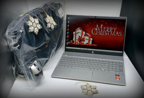 HP AMD Ryzen 3 With Radeon Vega Graphics Laptop In Silver / Gold