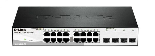 D-Link DGS-1210-20 16-Port Gigabit Smart Switch