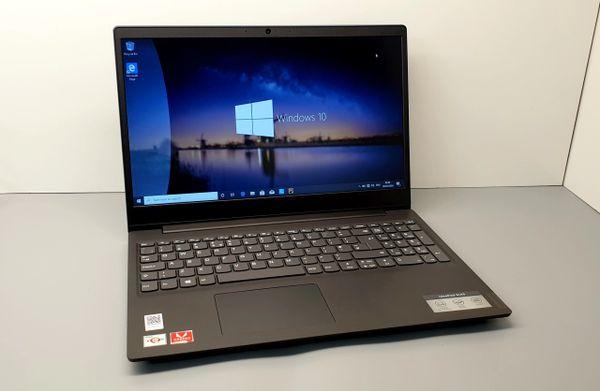 "Lenovo 15"" Athlon Laptop In Granite Black Hybrid Version - 8GB Ram - 128GB SSD - 1TB HDD Windows 10"