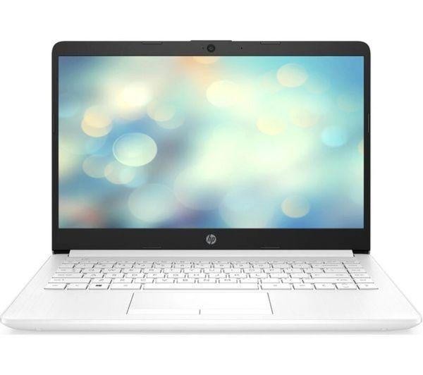 """HP Ryzen 3 14"""" Laptop In White"""