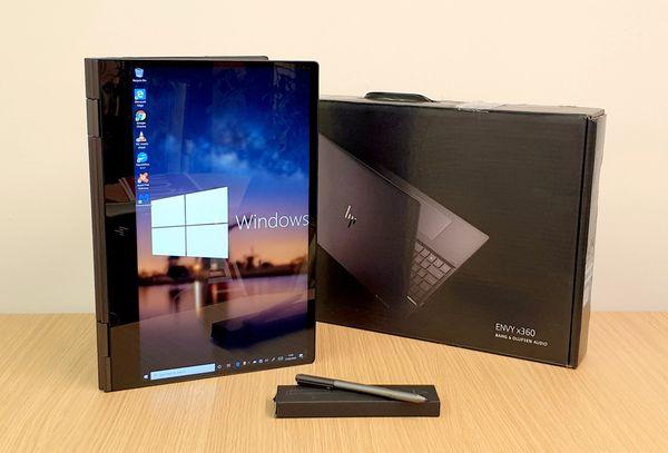 """HP ENVY x360 15""""6-inch 2 in 1 Laptop AMD Ryzen 5- 8GB Ram -256GB SSD -Complete With HP Tilt Pen"""