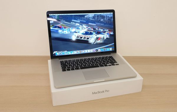 "Apple MacBook Pro 15""4-inch - Retina Display - Intel i7 -16GB Ram -256GB Flash Drive - Latest OS"