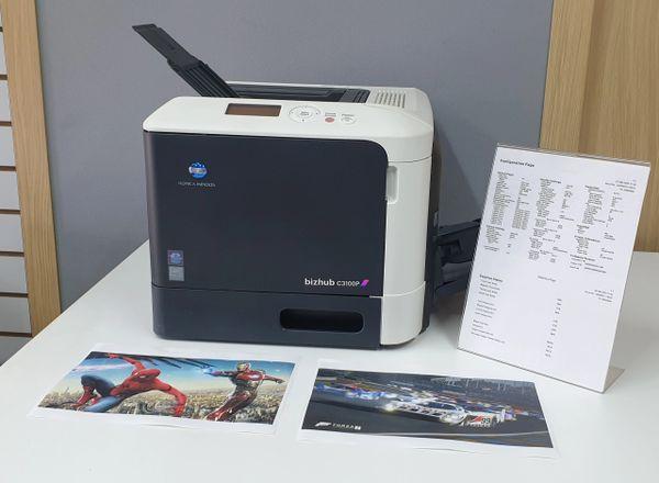 Colour Laser Printers / Konica-Minolta Bizhub C3100P Duplex / Network Laser Printers