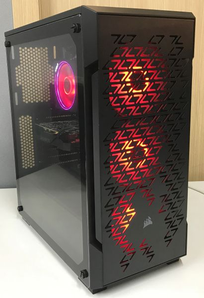Redhouse Ryzen Gaming PC Tower - RGB Control Case
