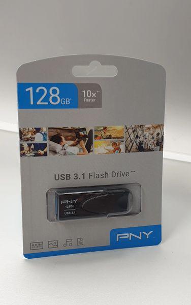 Flash Storage 128GB PNY Branded / New Sealed USB 3.1 Flash / Pen Drive :