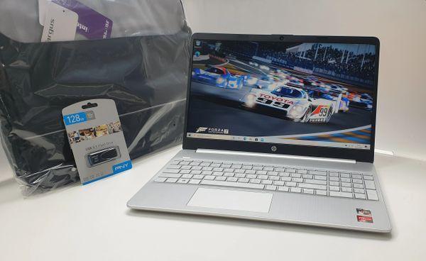 "HP Ryzen 3 CPU Laptop 15.6"" - 4GB Ram -256GB SSD"
