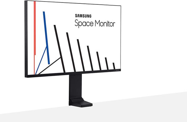 "Samsung 32"" Gaming 144Hz Monitor With Desk-Clamp Stand"