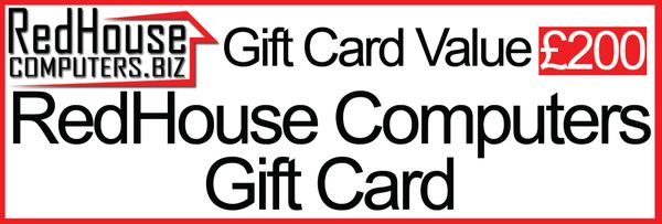 Redhouse Computers Gift Card (£200)