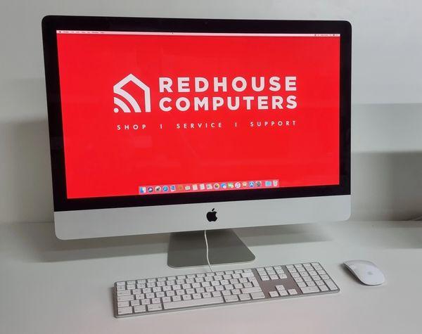 """Apple iMac 27""""-inch Model -Intel i5 3.10GHz -16GB RAM & 1TB HD -AMD Radeon HD Graphics -Mac O/S Warranty"""