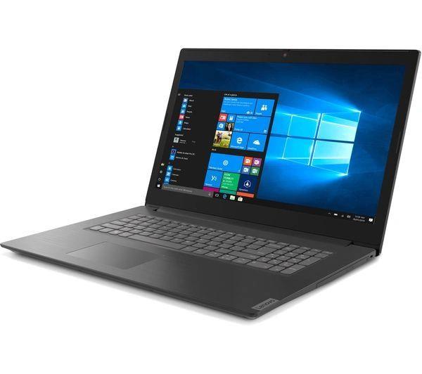 "Lenovo 17"" Laptop In Granite Black - AMD Athlon - 8GB RAM + SSD Drives 128GB or 256GB + 1TB HDD + Windows 10 O/S"
