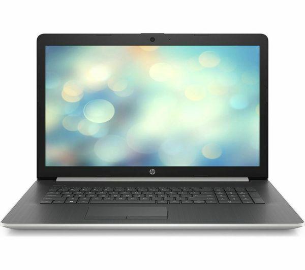 "HP Pavilion 17"" In Black/Silver - AMD Ryzen 5 CPU - 16GB RAM, 256GB SSD & 1TB HDD"