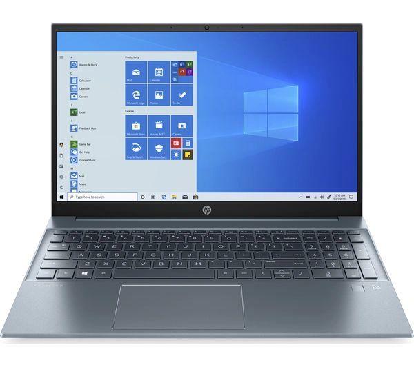 "HP Pavilion 15"" In Midnight Blue - AMD Ryzen 5 CPU - 8GB RAM & 512GB SSD"