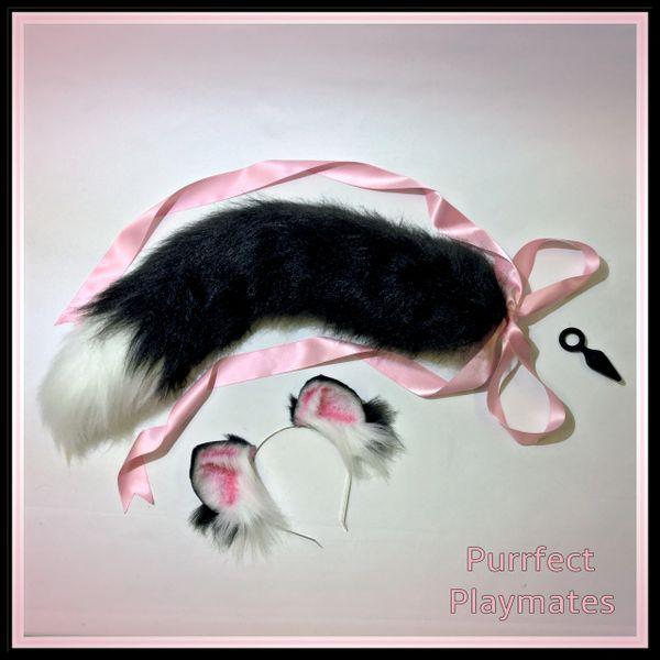Kitten Play Pet Play 26 Luxury Oura Gold Kitten Play Tail