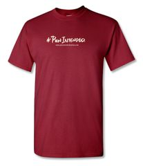 * Pun Intended Logo Red/Ivory T-shirt