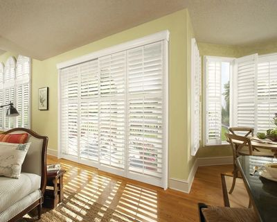 Shutters are priced by square foot so, we can quote it over the Phone. Delivery, Installation and me