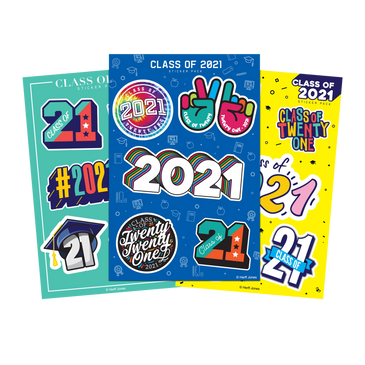 Class of 2021 Stickers