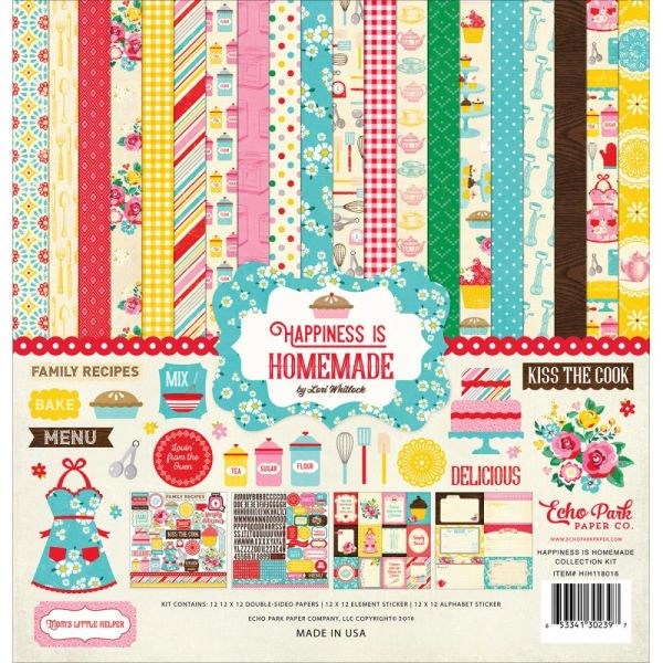 """Echo Park Double-Sided Paper Pad 6""""X6"""" 24/Pkg - Happiness ..."""