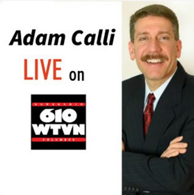 Adam Calli Live on 610 WTVN. Adam Calli Headshot