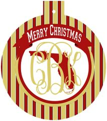 Florida State Christmas Personalized Ornament