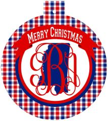 Mississippi Christmas Personalized Ornament
