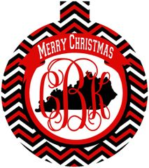 Louisville Christmas Personalized Ornament